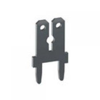 Keystone 1282 faston dual 110/250 do PCB
