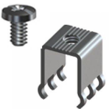 Keystone 8196 šroubová PC svorka, 30 Amps