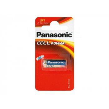 Panasonic LR1 (alkalická; Lady N; 1,5V) - blistr