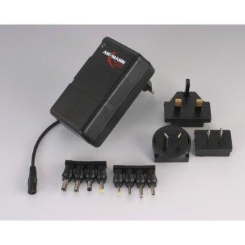 Ansmann APS 1212 traveller síťový zdroj 3-12V max.1200mA (100-240V)