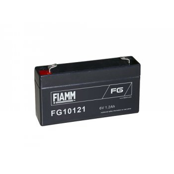 Fiamm FG10121 (6V; 1,2Ah; faston F1-4,7mm; životnost 5let)