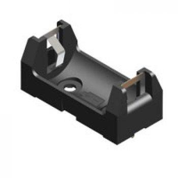 Keystone 108 držák baterie 1/2 AA , plastový
