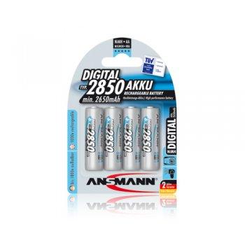 Ansmann Mignon Digital typ 2850 (MiMH; AA; 1,2V; min.2650mAh; BL4)