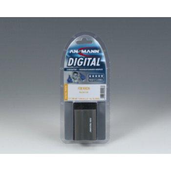 Ansmann Nikon EN-EL3E (Li-ion; 7,4V; 1400mAh) - A-NIK EN EL 3E pack.jpg