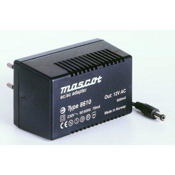 Mascot 8610 12V/600mA střídavý zdroj