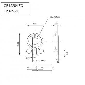 Panasonic CR-1220/FCN - jiné značení