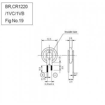 Panasonic CR-1220/VCN - jiné značení
