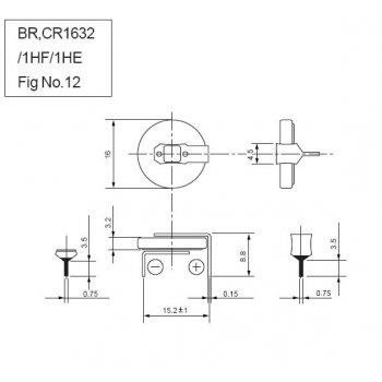 Panasonic CR-1632/HEN - jiné značení