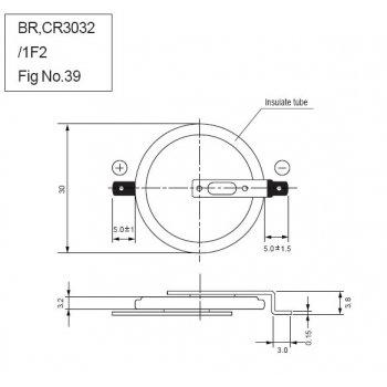Panasonic CR-3032/F2N - jiné značení