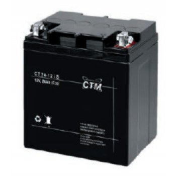 CT 12-24s (12V; 24Ah; oko 6mm; životnost 5let)