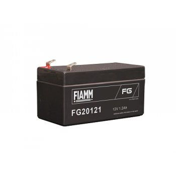 Fiamm FG20121 (12V; 1,2Ah; faston F1-4,7mm; životnost 5let; 48mm)