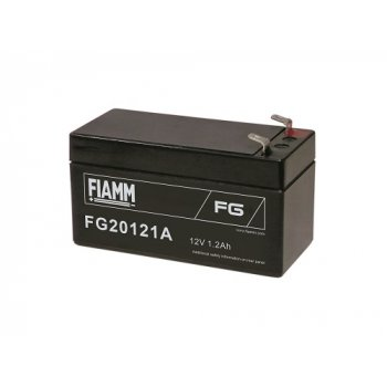 Fiamm FG20121A (12V; 1,2Ah; faston F1-4,7mm; životnost 5let; 43mm)