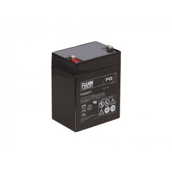 Fiamm FG20271 (12V; 2,7Ah; faston F1-4,7mm; životnost 5let)