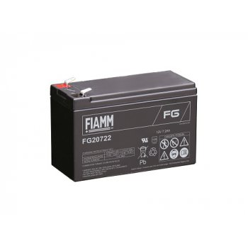 Fiamm FG20722 (12V; 7,2Ah; faston F2-6,3mm; životnost 5let)
