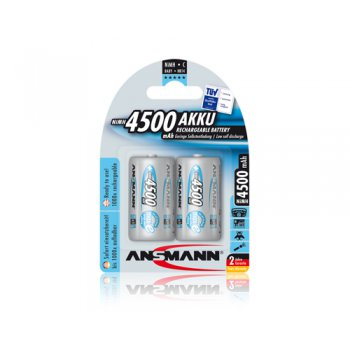 Ansmann Baby 4500mAh maxE (NiMH; C; HR14; 1,2V; 4500mAh; BL2)
