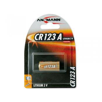 Ansmann CR123A (lithiová; 3V; BL1)