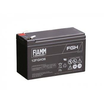 Fiamm 12FGH36 (12V; 9Ah; faston 6,3mm; životnost 5let) SLA