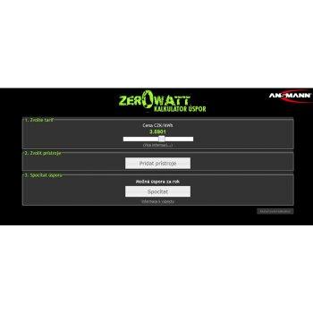 Ansmann AES 1 Odpočítávací úsporná zásuvka Zero Watt - kalkulátor