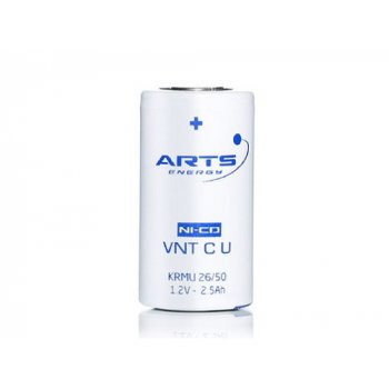 ARTS Saft VNT C U 2650mAh (NiCd; C; 1,2V; min.2500mAh; FT; +55°C)