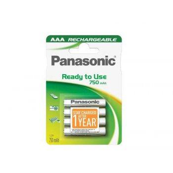 Panasonic Evolta AAA RTU (NiMH; AAA; HR03; 1,2V; 750 mAh; BL4)