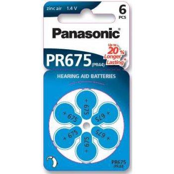 Panasonic PR 675H/6LB (sluchadlová baterie; 1,4V)