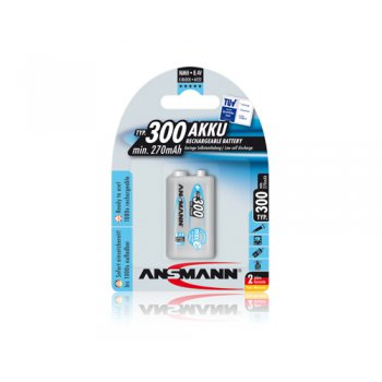 Ansmann 9V-Block E typ 300 maxE