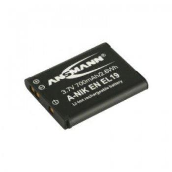 Ansmann Nikon EN-EL19 (Li-ion; 3,7V; 700mAh)