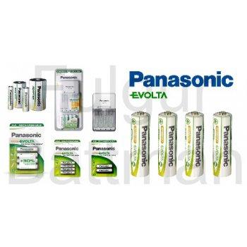 Panasonic BQ-CC09E+ 4xAA 1900 mAh NiMH EVOLTA nabíječka - Panasonic Evolta baterie skupina