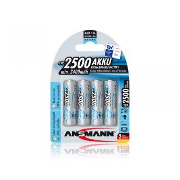 Ansmann Mignon maxE typ 2500 (NiMH; AA; 1,2V; min.2400mAh; BL4)