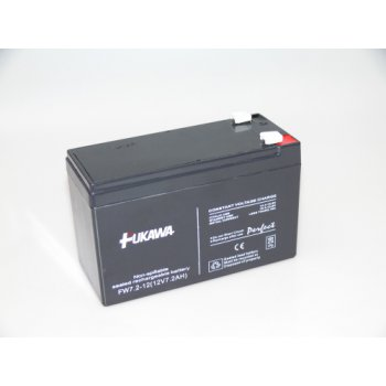 FUKAWA FW 7,2-12 F2 (12V/7,2 Ah - Faston 250) SLA baterie
