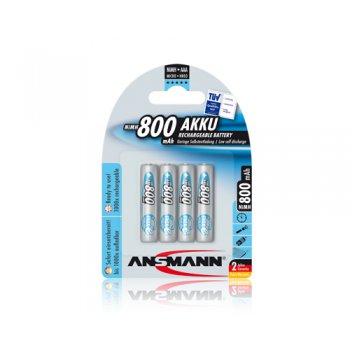Ansmann Micro AAA 800mAh maxE 4ks