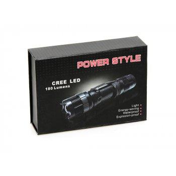 PS CREE LED 3W nabíjecí svítilna - obrázek2