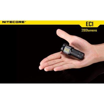 NITECORE EC1 outdoor svítilna LED CREE XP-G (R5) 280lm, 1xCR123
