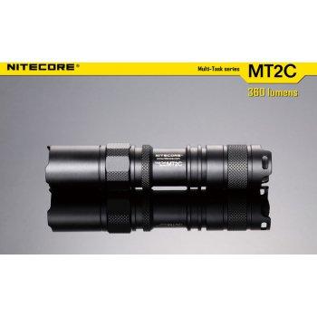NITECORE MT2C taktická svítilna LED CREE XP-G (R5) 360lm, 2xCR123A - obrázek