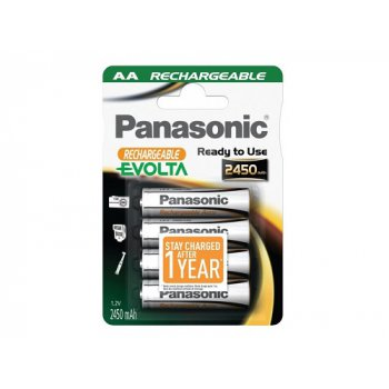 Panasonic Evolta AA 2450mAh RTU 4ks