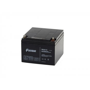 FUKAWA FWL 24-12  (12V/24 Ah - M5) SLA baterie