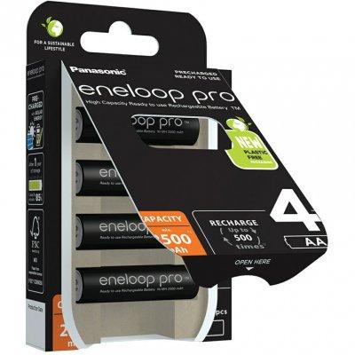 Panasonic Eneloop Pro BK 3HCDE AA 4ks