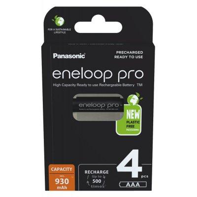 Panasonic Eneloop Pro BK-4HCDE AAA 4ks