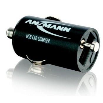 Ansmann USB Car Charger 1A (nabíječka; 12V autozásuvka)
