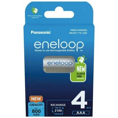 Panasonic Eneloop BK-4MCCE (NiMH; AAA; HR03; 1,2V; 750mAh; BL4)