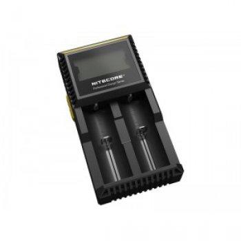 NITECORE D2 inteligentní nabíječka 2x, Li-Ion, Ni-MH, Ni-Cd LCD