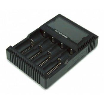 NITECORE D4 inteligentní nabíječka 4x, Li-Ion, Ni-MH, Ni-Cd LCD