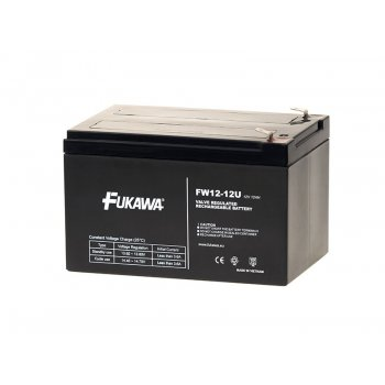 FUKAWA FW 12-12 U (12V; 12Ah; faston F2-6,3mm; životnost 5let)