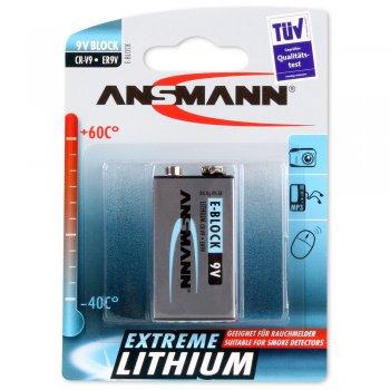 Ansmann 9V Extreme (lithiová; E-block; 9V; CR-V9; BL1)