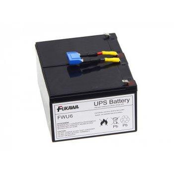 FUKAWA FWU-6 náhradní akumulátor za RBC6