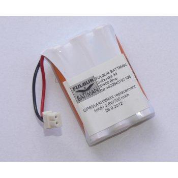 V-Panasonic HHR-70AAA NiMH 3,6V/700mAh náhradní akumulátor pro bezšňůrové telefony