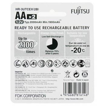 Fujitsu HR-3UTCEX-2B WHITE (NiMH; AA; 1,2V;  min1900mAh; RTU; BL2)