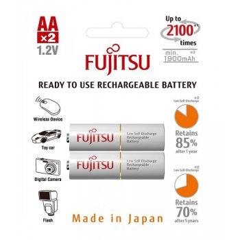 Fujitsu HR-3UTCEX-2B WHITE 2000mAh 2ks