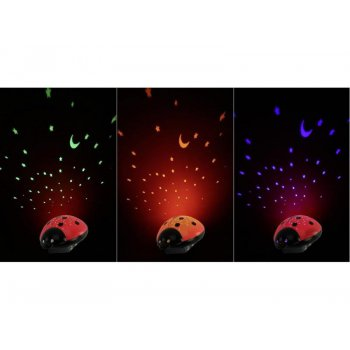Ansmann dětské noční světlo Hvězdná obloha Beruška - foto5