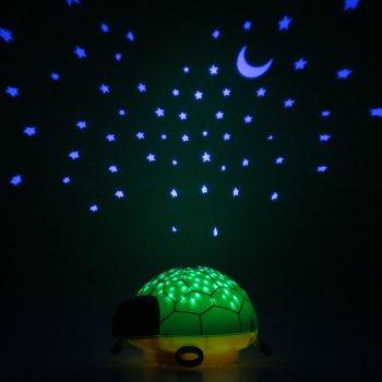 Ansmann dětské noční světlo Hvězdná obloha Želva hrající - foto2